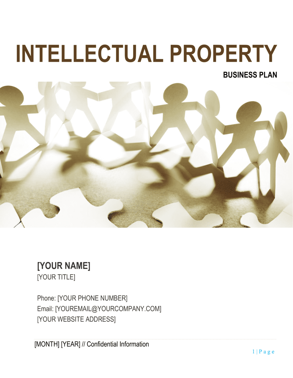 Business-in-a-Box's Intellectual Property Business Plan Template