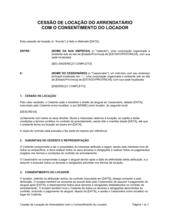 Atribuição de Concessão pelo Concedido com Consentimento do Concessor