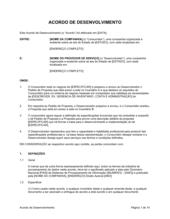 Acordo de Desenvolvimento Geral