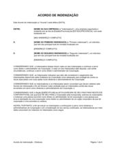 Acordo de Indenização Para Diretores