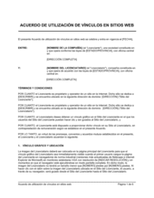 Acuerdo de utilización de vínculos en sitios web