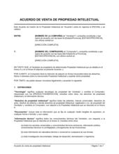 Acuerdo de venta de PI