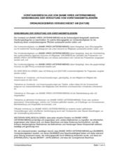 Vorstandsbeschluss Genehmigung der Vergütung von Vorstandsmitgliedern