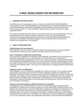 E-Mail Regelungen für Mitarbeiter_Lang