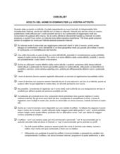 Checklist Scelta di un nome di dominio