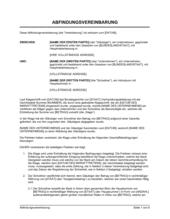 Abfindungsvereinbarung