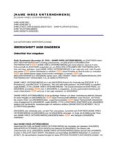 Pressemitteilung - Zusammenarbeit mit einer neuen Partnerschaft